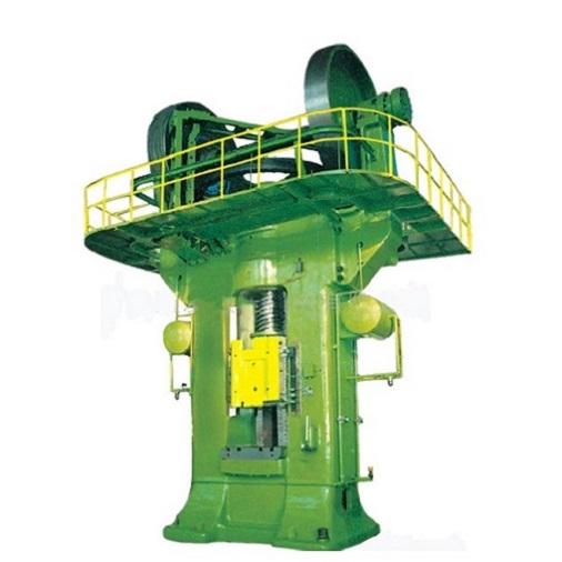 Steel press machine working process